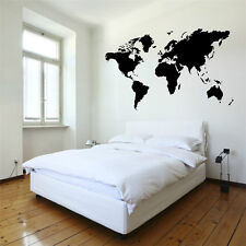 WORLD MAP vinyl wall art room sticker decal wall stickers For home decorate
