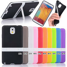 New TPU Silicone Stand Case Cover For Samsung Galaxy Note 3 N9000 Mega6.3 i9200
