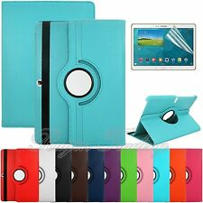 "360 Rotating Leather Case Cover Stand For Samsung Galaxy Tab S 10.5"" T800 + Film"