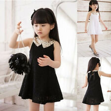 Another Fashion Baby Girl Kid Clothes Cocktail Wedding Lace Prom Dress Size 3-8Y