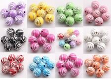 200 pcs acrylic spacer findings Loose beads charms 10mm
