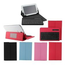 """Universal Bluetooth Keyboard Case Cover For 7"""" 7.7"""" inch Android IOS Tablet PC"""