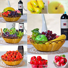 1/5/10pcs  Large Artificial Fake Fruits Apple Plastic Fruits Home Party Decor
