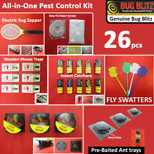 26 PC PEST CONTROL KIT- House Kitchen Garden Factory Warehouse Restaurant Indoor