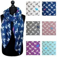 Chihuahua Dogs Print Scarf Women Scarves Large Size Lightweight Scarfs Lady