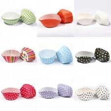 Lovely Candy Color CUPCAKE CASES Muffin Baking Cup Cake varity Colors