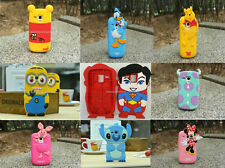 3D Stitch & Cartoon Soft Silicone Case Cover For Samsung Galaxy S3 Mini i8190