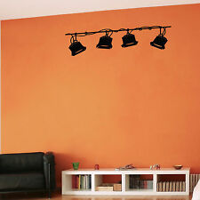 STAGE LIGHTING - Wall Decal 4 Home Theater Music Studio