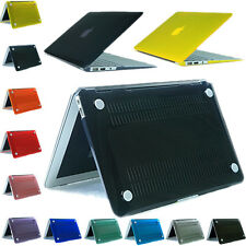Crystal Hard Rubberrized Case Rigid Plastic Protector For Mac Book Air 11 13