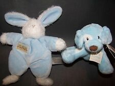 NEW Bunnies by the Bay Sweet Hops Bunny OR Gund Spunky Dog Rattle