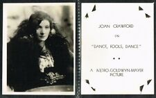Anonymous - Film Star Photocards 1930s Large Movie Trade Cards (£4.99 each)