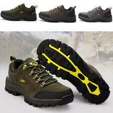 Mens Trail Shoes Low Top Hiking Boots Outdoor Hiking Trail Sneakers Sports Shoes