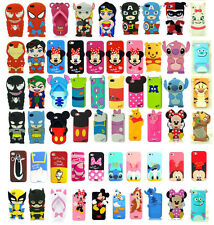 Hot New 3D Cartoon Comic Film Rubber Case Cover Super Hero for iPhone 5 5S 4G 4S