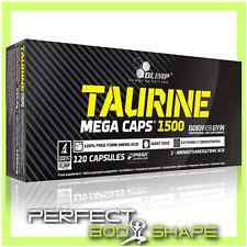 Olimp Taurine 1500mg STRONG Gélules Mega Amino Acides Pure Transport Créatine