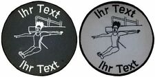 art diving patch with your text 10cm embroidered logo (658)