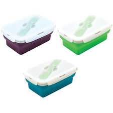 Eco Vessel Smashbox Collapsible Lunchbox 1 Compartment - Leak Proof Food