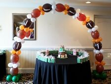 See Video Link-O-Loon Latex Football Balloon Arch Party Kit Do it Yourself  DIY