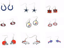 NFL  Dangle Earrings Official licensed all Teams Pick your Team 081914