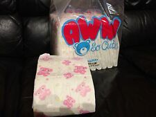 Pack of 5 Med. / Lg. Aww So Cute! ABDL Teddy Bear Adult Diapers + boosters