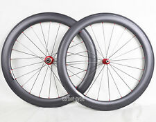 25 Wide Sapim CX-RAY Carbon Clincher Wheelset 700C 60 Novatec 3k Matt Road Bike