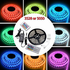 5050/3528 Flexible 300 SMD Light Strip LED Tape Car Outdoor Waterproof 12V 5M