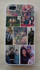 Personalized Image Custom Photo Shiny Fitted Case For Apple iPhone