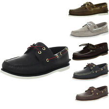 Timberland Men's Classic-2 Eyed Boat Shoe - New In Box