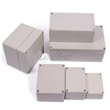 Waterproof Plastic Electronic Junction Case Project Enclosure Box Clear Cover
