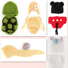 HOT Knitting Handmade Brand new Crochet Photo Baby Outfit Newborn  Costume Knit