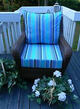 "24""x27"" Cushions for Deep Seating~Seat & Back Cushion~Sunbrella Solids, Stripes"