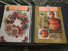 "Harvest Table Runners 13"" x 70""  Fall or Pumpkin"