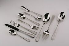 Gorham  Ribbon Edge Frosted II NEW Stainless 18/10 Flatware  YOUR CHOICE