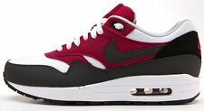 Nike Air Max 1 Essential white & black & red trainers 537383 105