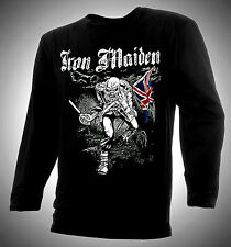 IRON MAIDEN - TROOPER - EDDIE 100% COTTON T-SHIRT - EXCELLENT!!!