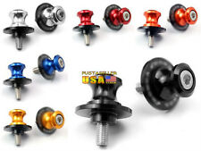 6 Color Option 8MM CNC Motorcycle Swingarm Sliders Spools For Honda Year all