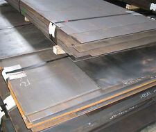 4mm thick mild steel sheet plate profiles blanks many sizes free custom cutting