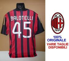 MILAN Maglia Rossonera 45 MARIO BALOTELLI Officiale Shirt Jersey NO LIVERPOOL !!