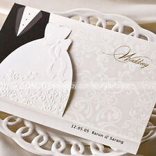 Personalized Chic Bride & Groom Wedding Invitation Cards & Envelopes and Seals