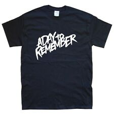A DAY TO REMEMBER  new black T-SHIRT sizes S - XXL