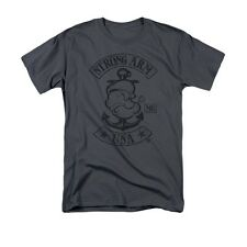"POPEYE ""STRONG ARM MC"" Officially Licensed Men's Shirt SM-XXXL"