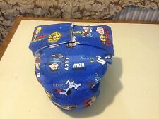 Adult Baby Diaper, Peanuts, Snoopy, etc., Fully Functional AIO, Extra Padding