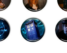 doctor who badge tardis