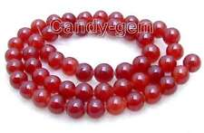 """SALE small 8mm perfect Round green jade gemstone beads strands 15""""-los371"""