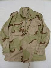 CLASS 4 COLD WEATHER DESERT CAMOUFLAGE MILITARY COAT/JACKET S REGULAR/L LONG NEW