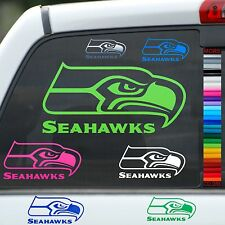 Seahawks Vinyl Car Window Sticker Wall Decal Truck Notebook Laptop Auto Helmet