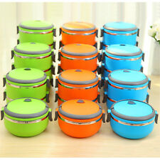 Green&blue Storage Bento Box  Stainless Steel Insulation Lunch Food Container