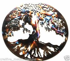 Tree of Life Abstract Metal Wall Sculpture Art Work Painting Home Decor