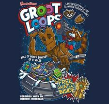 Guardians of The Galaxy Groot Loops shirt movie parody RIPT Apparel Rocket cute