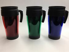 NEW Insulated Double Wall Travel Coffee Mug Thermos Cup 14 OZ