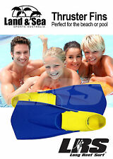 NEW Thruster fins 100% Rubber flippers. For Pool & Ocean use. kids & Adult sizes